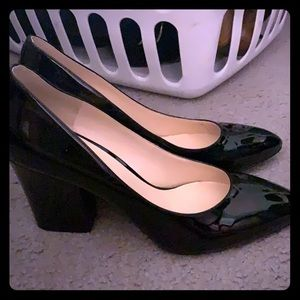 Nine West block heel shoe
